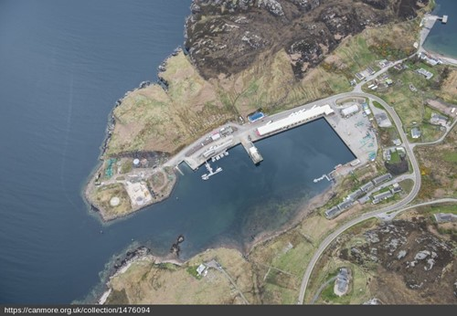 Kinlochbervie Harbour image courtesy of Historic Environment Scotland
